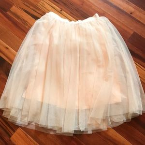 Easly tulle skirt. Size large